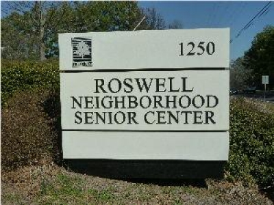 Roswell GA Neighborhood Senior Center